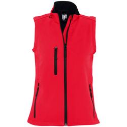 textil Mujer Cortaviento Sols RALLYE SPORT WOMEN Rojo