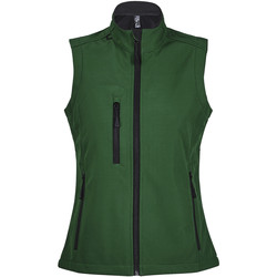 textil Mujer Cortaviento Sols RALLYE SPORT WOMEN Verde