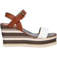 Zapatos Mujer Sandalias Chika 10 NILA 03 Blanco