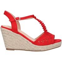 Zapatos Mujer Alpargatas Chika 10 NADIA 10 Rojo