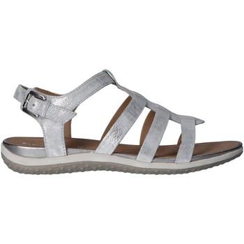 Zapatos Mujer Sandalias Geox D72R6A 000MA D SANDAL Plateado
