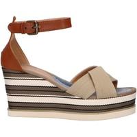 Zapatos Mujer Sandalias Chika 10 NILA 02 Beige