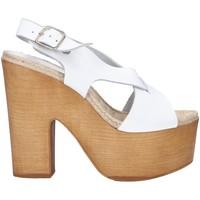Zapatos Mujer Sandalias Chika 10 RUSIA 02 Blanco