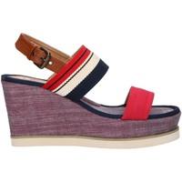 Zapatos Mujer Sandalias Chika 10 NILA 01 Rojo
