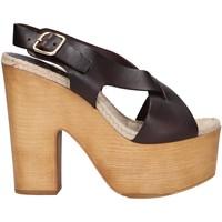 Zapatos Mujer Sandalias Chika 10 RUSIA 02 Marrón