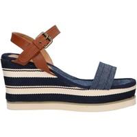 Zapatos Mujer Sandalias Chika 10 NILA 03 Azul