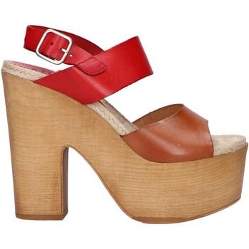 Zapatos Mujer Sandalias Chika 10 RUSIA 04 Rojo