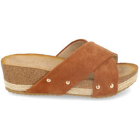 Zapatos Mujer Zuecos (Mules) Encor D012 Camel