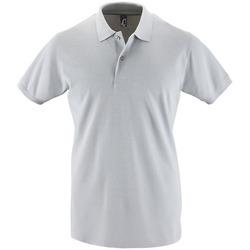 textil Hombre Polos manga corta Sols PERFECT COLORS MEN Gris