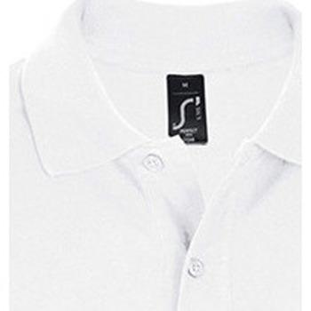 textil Hombre polos manga corta Sols PERFECT COLORS MEN Blanco
