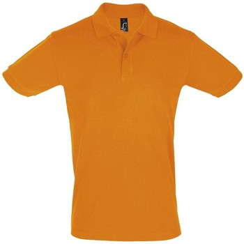 textil Hombre Polos manga corta Sols PERFECT COLORS MEN Naranja
