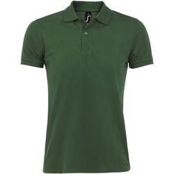 textil Hombre polos manga corta Sols PERFECT COLORS MEN Verde