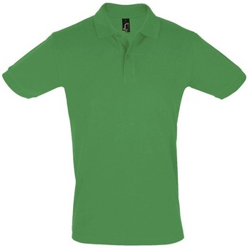 textil Hombre Polos manga corta Sols PERFECT COLORS MEN Verde