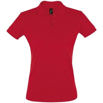 textil Mujer polos manga corta Sols PERFECT COLORS WOMEN Rojo