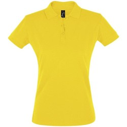 textil Mujer polos manga corta Sols PERFECT COLORS WOMEN Amarillo