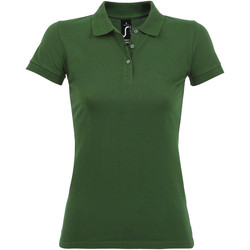 textil Mujer polos manga corta Sols PERFECT COLORS WOMEN Verde
