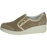 Zapatos Mujer Slip on Riposella C217 Beige