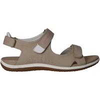 Zapatos Mujer Sandalias de deporte Geox D52R6A 000EK D SANDAL Beige