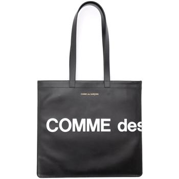 Bolsos Mujer Bolso para llevar al hombro Comme Des Garcons Bolso Shopping  Huge Logotipo de Negro