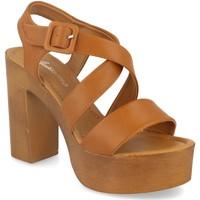 Zapatos Mujer Sandalias Festissimo Y288-119 Camel