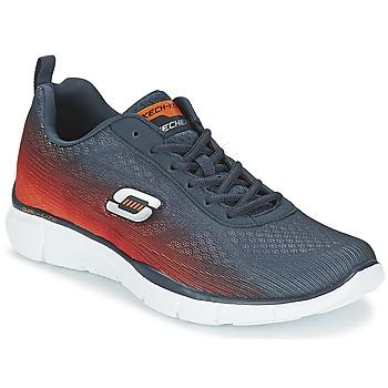 Zapatos Hombre Multideporte Skechers EQUALIZER Marino / Naranja