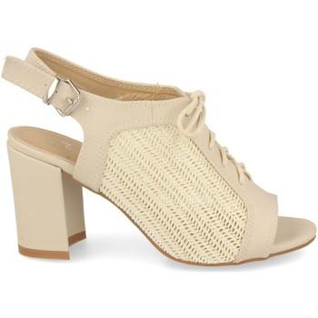 Zapatos Mujer Sandalias Festissimo F20-29 Beige