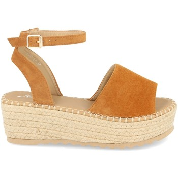 Zapatos Mujer Alpargatas Festissimo F20-17 Camel