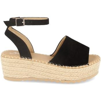 Zapatos Mujer Alpargatas Festissimo F20-17 Negro