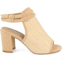 Zapatos Mujer Sandalias Festissimo F20-5 Beige