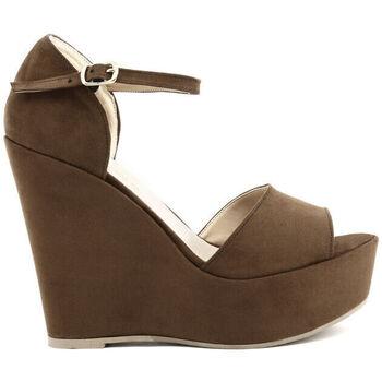 Zapatos Mujer Sandalias Made In Italia - beniamina Marrón
