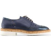 Zapatos Mujer Derbie Made In Italia - letizia Azul