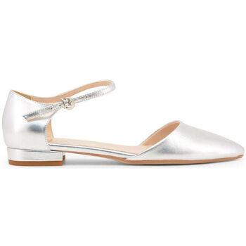 Zapatos Mujer Bailarinas-manoletinas Made In Italia - baciami-nappa Gris