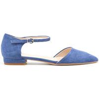 Zapatos Mujer Bailarinas-manoletinas Made In Italia - baciami Azul