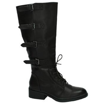 Zapatos Mujer Botas urbanas Martin Pescatore Bota alta militar Marrón