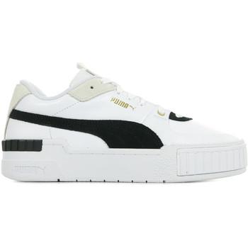 Zapatos Mujer Zapatillas bajas Puma Cali Sport Heritage Wn's Blanco