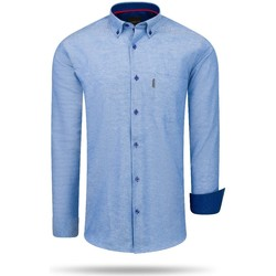 textil Mujer Camisas Cappuccino Italia Regular Fit Overhemd Royal Blauw