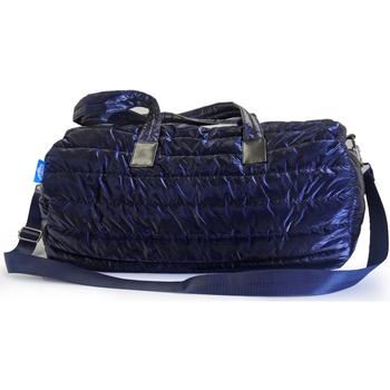 Bolsos Bolso de viaje Nuvola. Duffle Bag Apolo Puffer Style. Blue
