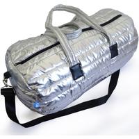 Bolsos Bolso de viaje Nuvola. Duffle Bag Apolo Puffer Style. Silver