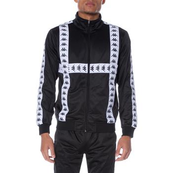 textil Hombre Chaquetas de deporte Kappa - Felpa nero 304UBU0-901 NERO