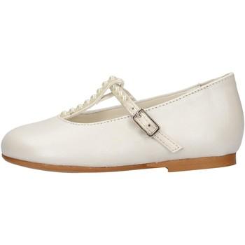 Zapatos Niña Bailarinas-manoletinas Oca Loca - Ballerina bianco 8041-11 BIANCO