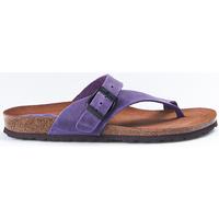 Zapatos Mujer Chanclas Interbios Sandalias  7119 Lila Violeta