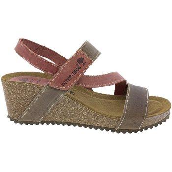 Zapatos Mujer Sandalias Interbios Sandalias  5635 Beig Teja Beige