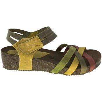Zapatos Mujer Sandalias Interbios Sandalias  5338 Teja-Kaki-Mostaza Naranja