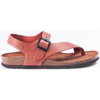 Zapatos Mujer Sandalias Interbios Sandalias  7162 Teja Naranja