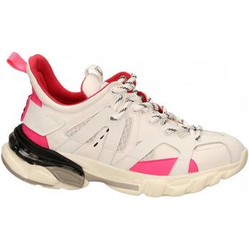 Zapatos Mujer Zapatillas bajas La Carrie Shoes SNEAKER ALLACCIATA bianco