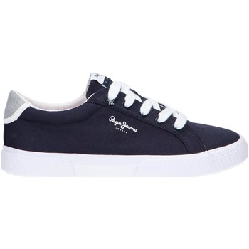 Zapatos Niños Zapatillas bajas Pepe jeans PBS30445 KENTON Azul