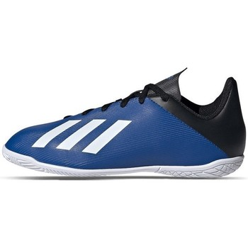 Zapatos Niño Fútbol adidas Originals X 194 IN Negros, Azul marino
