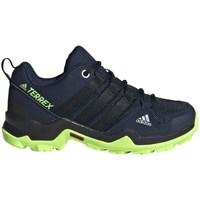 Zapatos Niño Running / trail adidas Originals Terrex AX2R K Negros, Azul marino
