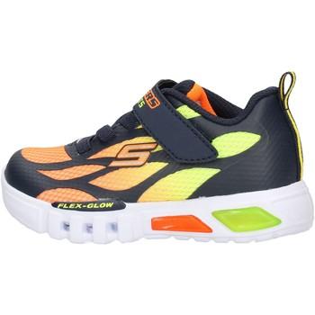 Zapatos Niño Zapatillas bajas Skechers - Flex glow arancione 400016N NVOR ARANCIONE