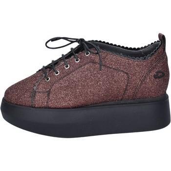Zapatos Mujer Zapatillas bajas Guardiani sneakers glitter rojo